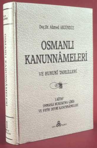 OSMANLI KANUNNAMELERİ - 1