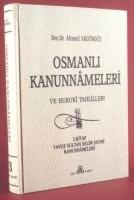 Osmanlı Araştırmaları Vakfı - OSMANLI KANUNNAMELERİ - 3