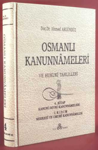OSMANLI KANUNNAMELERİ - 4