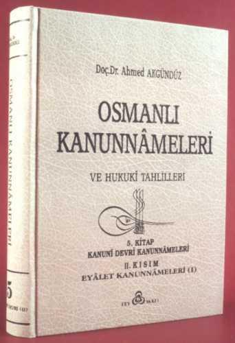 OSMANLI KANUNNAMELERİ - 5