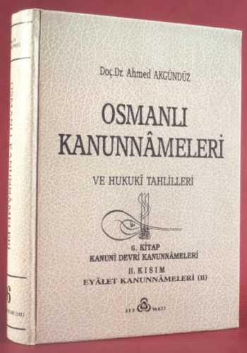 OSMANLI KANUNNAMELERİ - 6