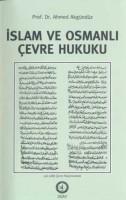 Osmanlı Araştırmaları Vakfı - İSLAM VE OSMANLI ÇEVRE HUKUKU