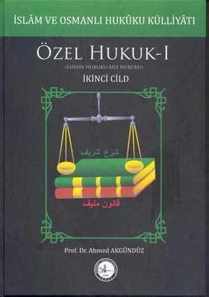 Osmanlı Araştırmaları Vakfı - İSLAM VE OSMANLI HUKUKU KÜLLİYÂTI-3