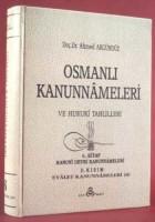 Osmanlı Araştırmaları Vakfı - OSMANLI KANUNNAMELERİ - 6