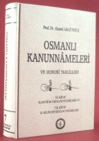 Osmanlı Araştırmaları Vakfı - OSMANLI KANUNNAMELERİ - 7
