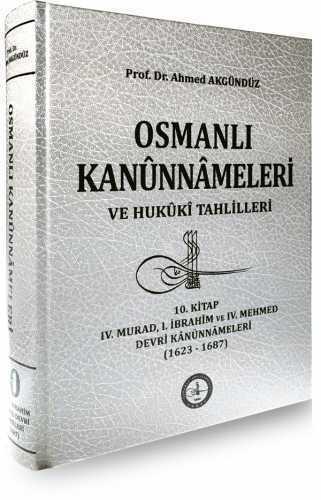 OSMANLI KANUNNÂMELERİ - 10