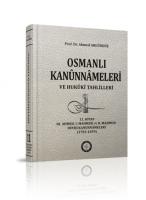 Osmanlı Araştırmaları Vakfı - OSMANLI KANUNNAMELERİ - 11
