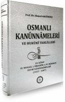 Osmanlı Araştırmaları Vakfı - OSMANLI KANUNNÂMELERİ - 10