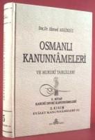 Osmanlı Araştırmaları Vakfı - OSMANLI KANUNNAMELERİ - 5