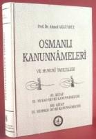 Osmanlı Araştırmaları Vakfı - OSMANLI KANUNNAMELERİ - 8
