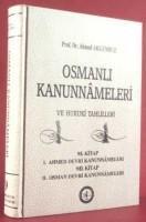 Osmanlı Araştırmaları Vakfı - OSMANLI KANUNNAMELERİ - 9